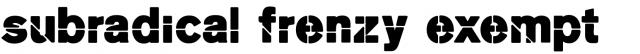 Mk Stencil Sans