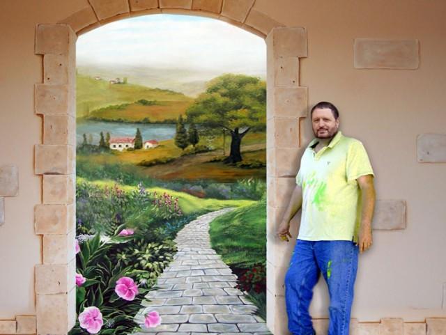 A Fantastic Mural
