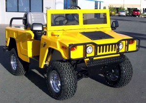 Hummer Golf Cart