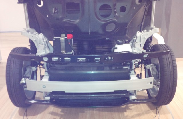 The BMW i3 Ancillary Battery