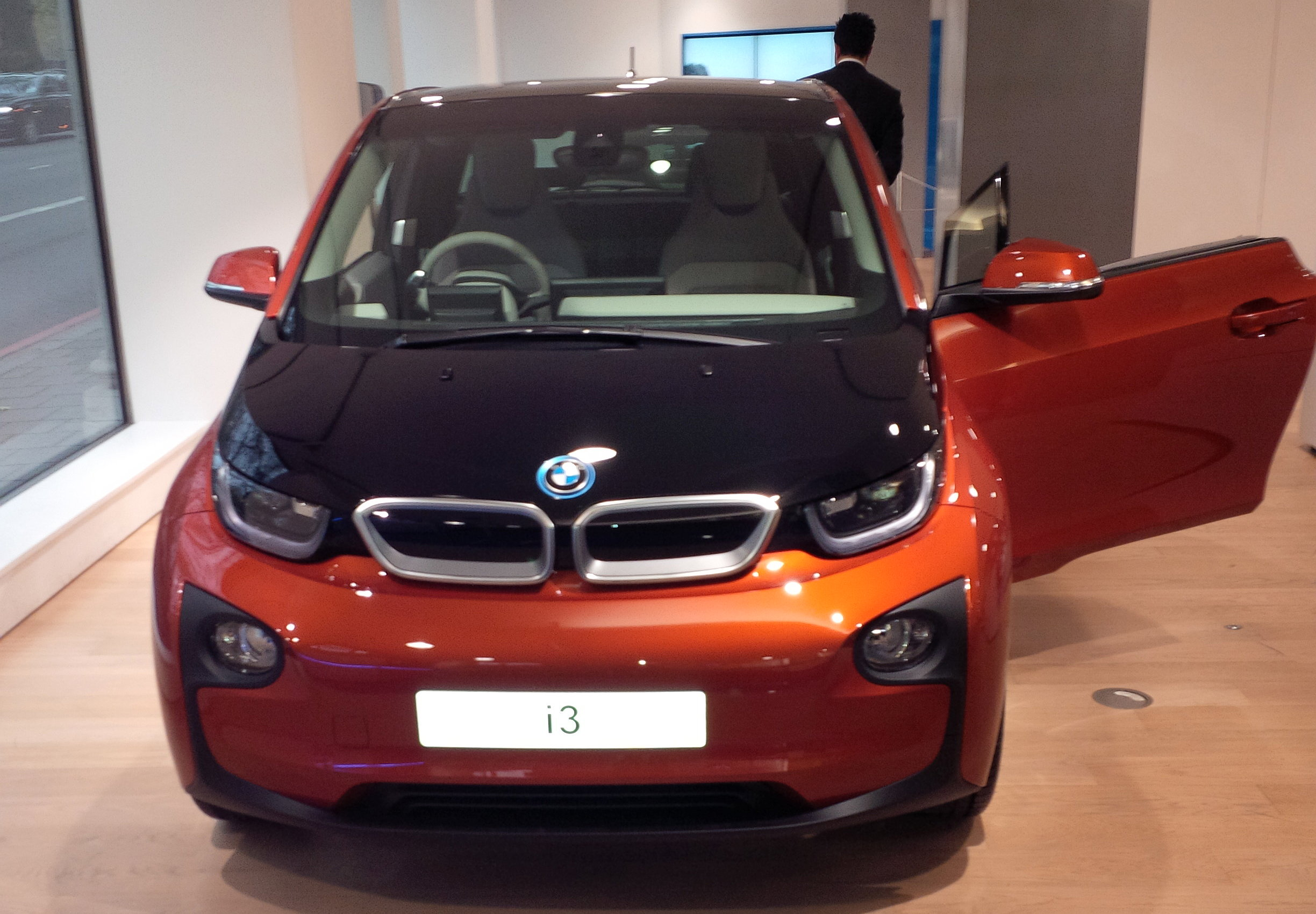 BMW i3 Electric Car Exterior