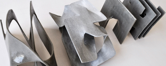 Cement Polymer Art Created 3D Printer