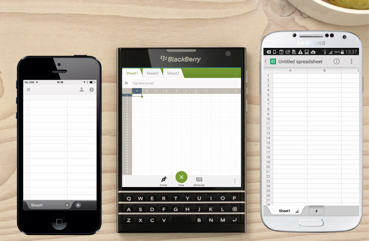 Blackberry Passport Phablet